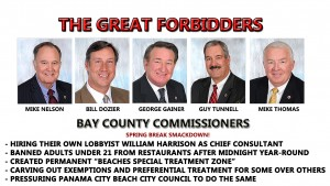 GREAT FORBIDDERS BAY COUNTY COMMISSIONERS